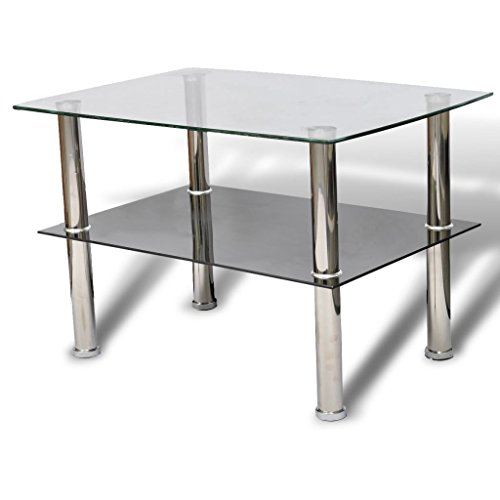 tables d'appoint en verre